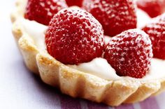 This vanilla custard tart can be customized with any fruit you like