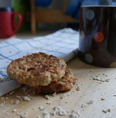 Recipe of the day: Healthy Breakfast Banana Cookie/Patty/Cakes! Wholesome ingredients, no added sugar, low fat...perfect for a filling breakfast on the go! #healthy