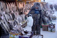 Oymyakon - The most cold place on earth - Photos from Amos Chapple