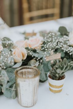 Yin Hoe and Voon Yee's Intimate Wedding at Twinkle Villa, Janda Baik Lovely floral table centrepiece Indian Wedding Favors, Succulent Wedding Favors, Wedding Favours, Table Centerpieces, Centrepieces, Table Decorations, High School Sweethearts, Intimate Weddings, Hoe