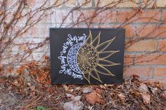 This is a custom, made to order stretched canvas that reads Live by the sun, love by the moon. Canvas comes with the colors pictured above, but if you would like to customize your canvas, please contact me PRIOR to purchasing and I will work with you to create a canvas you love.  PLEASE NOTE: -- A stretched canvas can be hung with nails or push pins, as the canvas is stretched across a wooden frame. These will come out about an inch from the wall.
