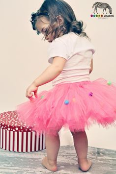 pompom tutu - yeah I know, pom poms are becoming a bit of an obsession lol