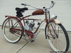 Conversion To Gas Powered Moped !~
