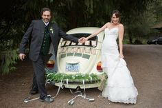 """""""Just Married """"  The big day arrives in Grimm. The marriage of Monroe and Rosalee. It's Friday"""