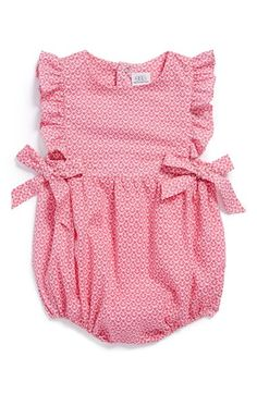 egg by susan lazar Cotton Bubble Romper (Baby Girls) | Nordstrom I Oh. my. gosh.