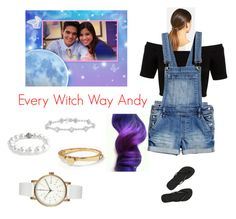 """""""Every Witch Way Andy"""" by coroanbob ❤ liked on Polyvore featuring art"""