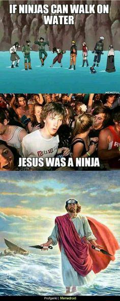 Jesus era um ninja? Ele foi o primeiro ninja