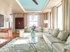 Your living room is the busiest and most lovable place in your house. It's always nice to hang out with your family and friends in a comfortable and appealing space. If your living room is looking as the same as it was four years ago, you probably need to spruce up the atmosphere a little...