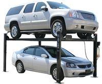 Atlas Automotive Equipment Garage Pro 8000 Service/Parking 4 Post Lift 8,000 lbs | Best Buy Auto Equipment 4 Post Car Lift, Four Post Lift, Garage Car Lift, Garage Tools, Garage Shop, Car Hoist, Automotive Shops, Restoration Shop, Garage Addition