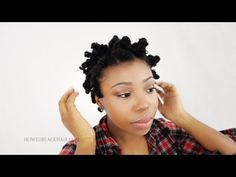 Bantu Knot Out on Natural Hair: How To Take Down Knots on Short Transitioning Hair Tutorial Part 3   Separating the knots further will leave your used to be defined bantu knotout into a fluffy wavy piece of hair. It is best to conceal obvious sectioned of squares off hair by simply fluffing your hair at the roots with an afro pick. You don't want to bring the pick...  Subscribe, It's Free! http://www.youtube.com/subscription_center?add_user=blackwomenhair