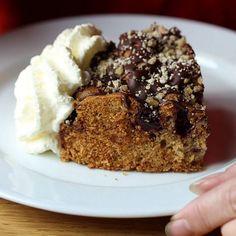 Chocolate cherry black forest crumb cake....type thing