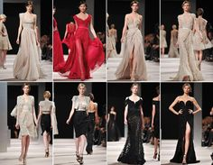 Elie Saab dresses One of my most fav designers ever!  Not a dress I don't like. Now I can't afford the stuff. But, a girl can dream!