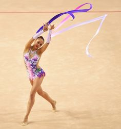 Russia's golden streak in Rhythmic Gymnastics continued at the 2014 World Rhythmic Gymnastics Championships in Izmir (TUR), with Margarita Mamun earning World title with the Ribbon.