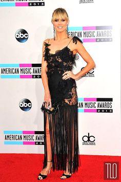 Heidi Klum in Marchesa at the 2013 American Music Awards | Tom & Lorenzo Fabulous & Opinionated