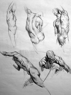 conceptlibrary: Figure drawing notes of Kevin Chen, one of the best character design teachers in the industry. His analytical approach of t...