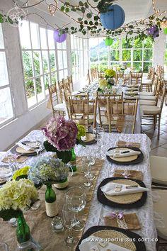 decoración con hortensias #bodasmedellin #noviasmedellin