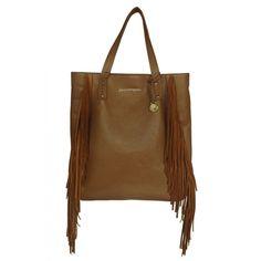Bolsa de franja de couro, bolsa sacola de couro, bolsa de couro com franjas. Loja virtual: www.notore.com.br