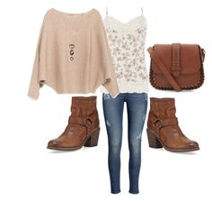 """""""Let's play hooky"""" by heather-hop ❤ liked on Polyvore featuring Frye, H&M, Dorothy Perkins, Zara and Judith Jack"""