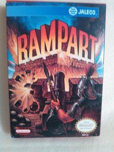 Rampart  (Nintendo, 1992) 1985 1991 (NES) Please Read Description