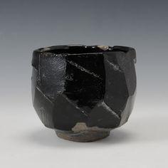 HAGIKURO CHAWAN (Hagi Black Tea Bowl)