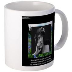 #VirginiaWoolf & #Aging #Quote #Mug by @RickLondon @cafepress #poetry #poets #writers #authors #coffee #sale #gift #women #mugs @pinterest