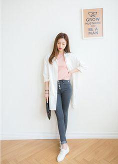 Look at this Gorgeous korean fashion outfits 2879131617 Korean Fashion Office, Korean Fashion Summer Casual, Korean Fashion Ulzzang, Korean Fashion Trends, Korean Street Fashion, Korea Fashion, Asian Fashion, Trendy Fashion, Fashion Outfits