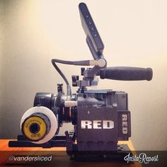 Thanks @vandersliced for the awesome pic! #ikancorp #followfocus #productionstools #production #gearslut #gear #video #cinematography #cool #red #epic #redcam