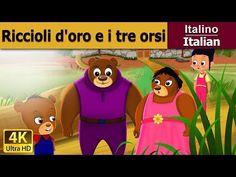 Riccioli d'oro e i tre orsi - favole per bambini raccontate - K4 UHD - Italian Fairy Tales - YouTube