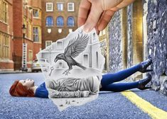 An interesting project by Ben Heine.