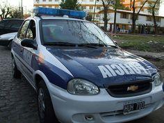 Policía de la Provincia de Buenos Aires . Chevrolet Corsa