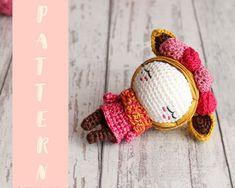 Mesmerizing Crochet an Amigurumi Rabbit Ideas. Lovely Crochet an Amigurumi Rabbit Ideas. Crochet Puff Flower, Crochet Flower Patterns, Crochet Patterns Amigurumi, Love Crochet, Crochet Gifts, Doll Patterns, Crochet Flowers, Amigurumi Doll Pattern, Crochet Amigurumi