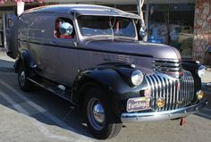 Clean & Mean. 1946 Chevy Panel Truck | Flickr - Photo Sharing!
