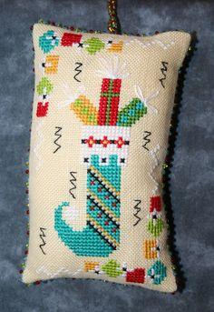 Christmas Gift Sock Hop Fresh Threads Studio - JCS Ornament Issue 2012