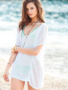 Linen Cover-up $59.50