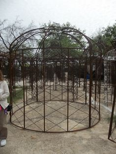 Wrought Iron Gazebo that makes a statement.  www.nagelsnursery.com