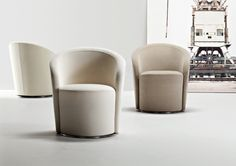 Shop the Speak Easy Armchair and more contemporary furniture designs by La Cividina at Haute Living. Contemporary Armchair, Contemporary Furniture, Cool Furniture, Furniture Design, Lounge Furniture, Modern Sofa, Adjustable Height Table, Plywood Panels, Swivel Armchair