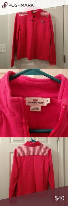 "Vineyard Vines Shep Shirt Super cute pink shep shirt in good condition. Measures approximately 23"" from top of shoulder to the bottom. Vineyard Vines Tops"