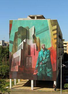 SEPE & CHAZME .. 'The Trial of Joseph K.' .. for Memorie Urbane .. [Fondi, Italy 2016]