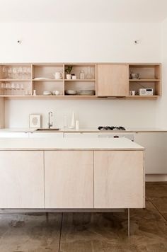 Ply wood kitchen