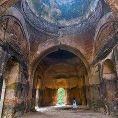 An abandoned Mosque in Murshidabad West Bengal India. Photo by Partha Sarathi Bose. by itsabandoned