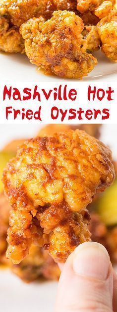 Nashville Hot Fried Oysters - Great Game Day Recipe or Appetizer