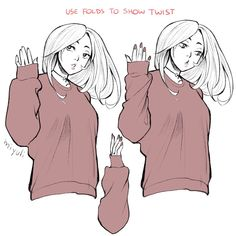 Drawing ref/inspo Drawing ref/inspo — Yo! Do you have any tips on drawing clothes folds. Art Reference Poses, Drawing Reference, Hand Reference, Drawing Techniques, Drawing Tips, Drawing Stuff, Drawing Ideas, Art Du Croquis, Kleidung Design