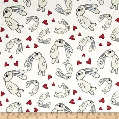 Designed by Mo Willems from Cloud 9 Fabrics, this certified 100% organic cotton print fabric meets the GOTS certification; only low impact, organic dyes were used in this product. This fabric is perfect for quilts, home decor accents, craft projects and apparel. Colors include white, black, ivory and rusty red.