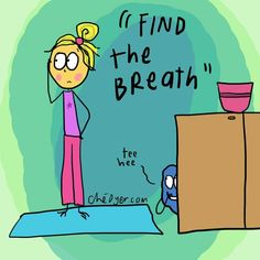 What exactly does 'Find the Breath' mean? Find out what yoga teachers are really saying in yoga class.| DOYOUYOGA.com