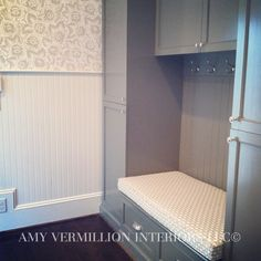 Amy Vermillion Interiors LLC @- Mudroom Cabinetry