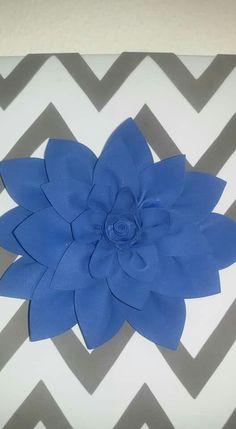 Quadro di fiore in gomma crepla