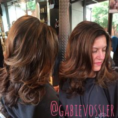 #Highlights and #lowlights hair by Gabie  Vossler