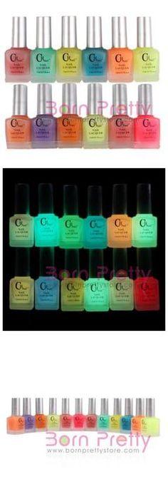CH nails Glow in the dark nail polish