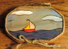 Sail boat sign 1  Hurricane Sandy Relief by CarmelasCreations, $7.50