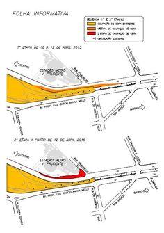 Obras do Metrô interditam trecho da Avenida Professor Luiz Ignácio de Anhaia Mello +http://brml.co/1DPeQ30